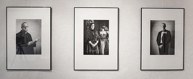 Porträtt utställning i Binneberg - Fotograf Riise