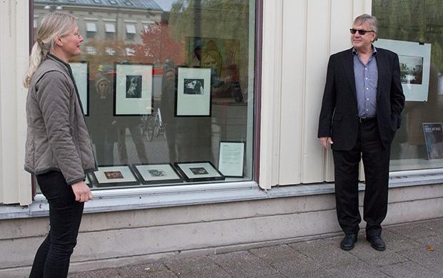 Eva Riise och Per Freden från NEXT Skövde Destinationsutveckling.